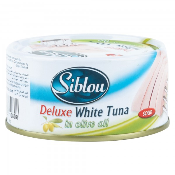 Siblou Deluxe White Tuna (Solid) In Vegetable Oil Canned 185G 395483-V001 by Siblou