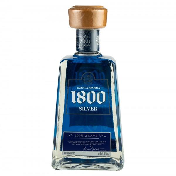 Jose Cuervo 1800 Silver Tequila 70cl 395737-V001 by Jose Cuervo