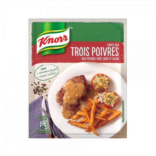 SAUCE AU POIVRE 395851-V001 by Knorr