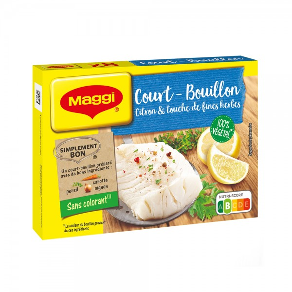 MAGGI COURT BOUILLON CITRON 396117-V001 by Nestle