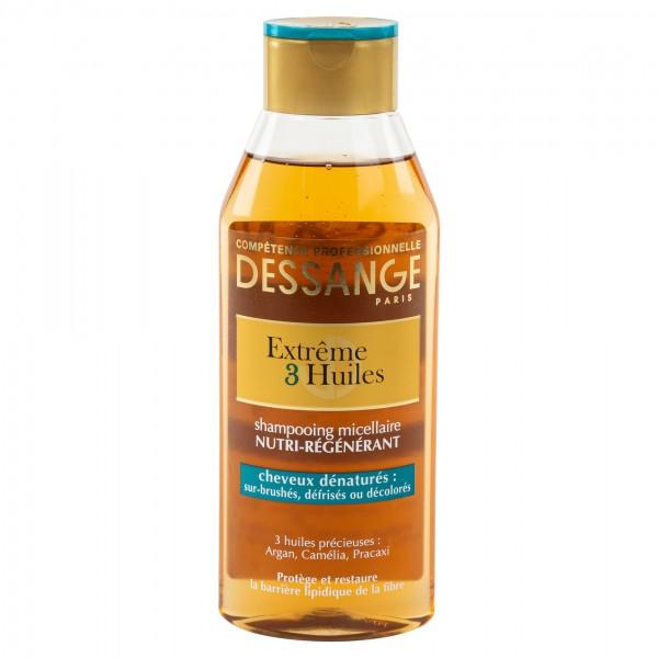 Jacques Dessange Extreme 3 Huiles Shampoo 250ml 396268-V001 by Jacques Dessange