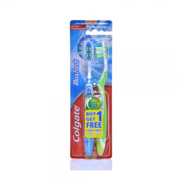 Colgate Maxfresh Soft Multipack Toothbrush 2pk 397081-V001 by Colgate