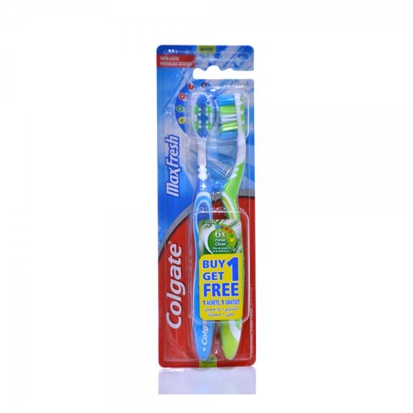 Colgate Maxfresh Medium Multipack Toothbrush  2pk 397085-V001 by Colgate
