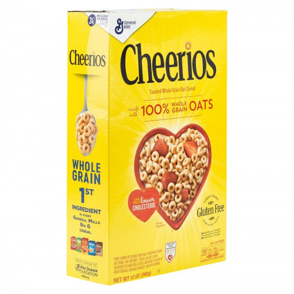 General Mills Gluten Free Cheerios Cereal 12Oz 397933-V001 by General Mills