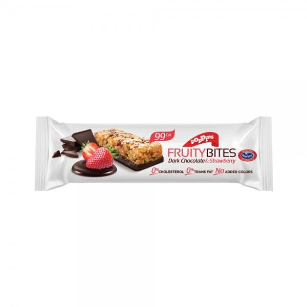 Poppins Fruity Bites Strawberry 25G 400001-V001 by Poppins