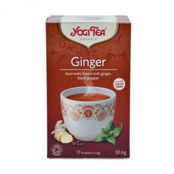 Yogi Ginger Tea 17 Bags 400728-V001 by Yogi Tea