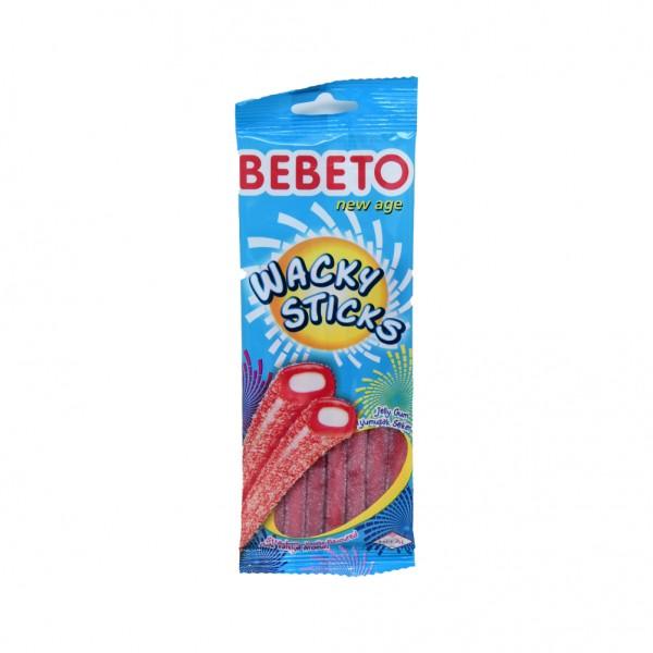 Bebeto Sticks Straw Vanilla - 75G 402534-V001 by Bebeto