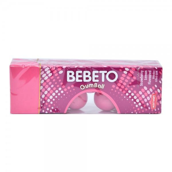 Bebeto Gumball Strawbery Lemon - 25G 402606-V001 by Bebeto