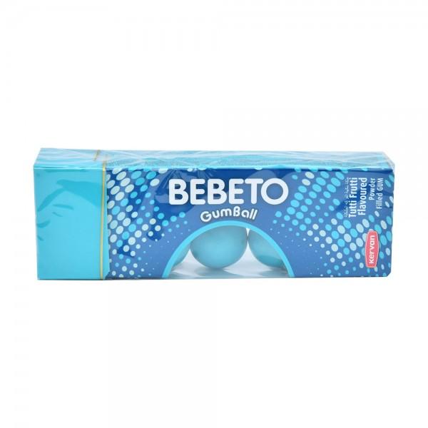 Bebeto Gumball Tutti Frutti - 25G 402608-V001 by Bebeto