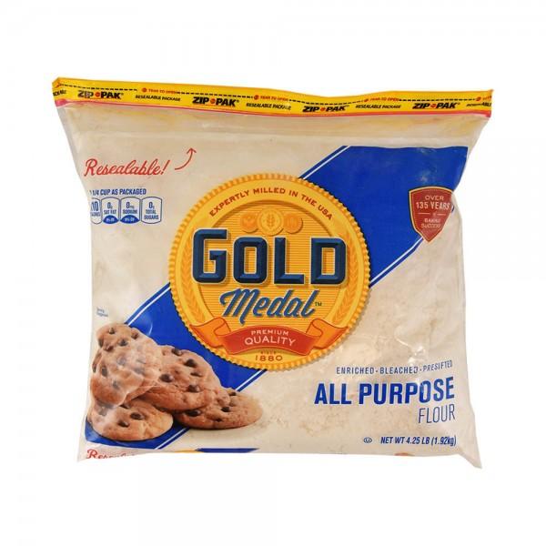 Gold Medal Zip Bag Flour All Purpose 4.25Lb 402765-V001 by Gold Medal