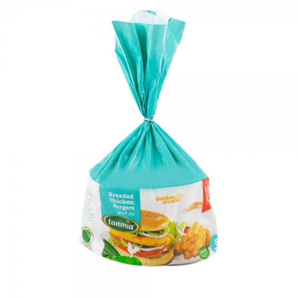 Tanmia Chicken Burgers-Breaded Frozen 850G (8 Pieces) 405093-V001