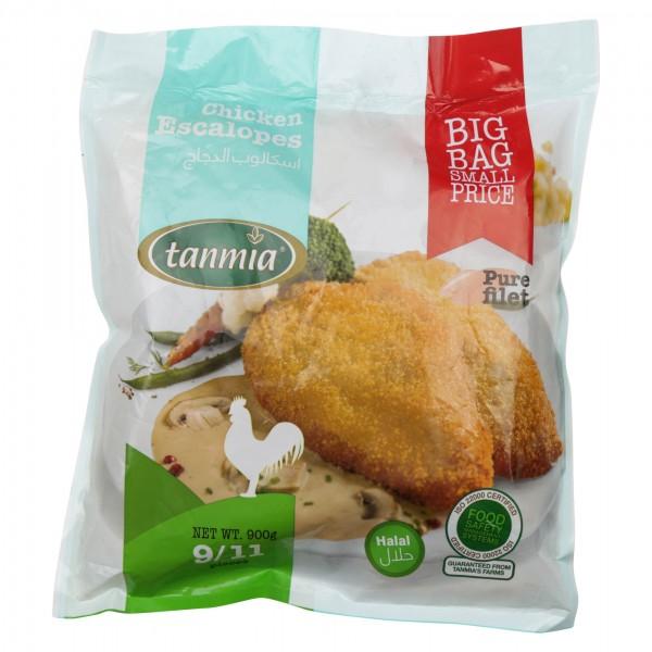 Tanmia Chicken Escalope Frozen 900G (9/11 Pieces) 405098-V001