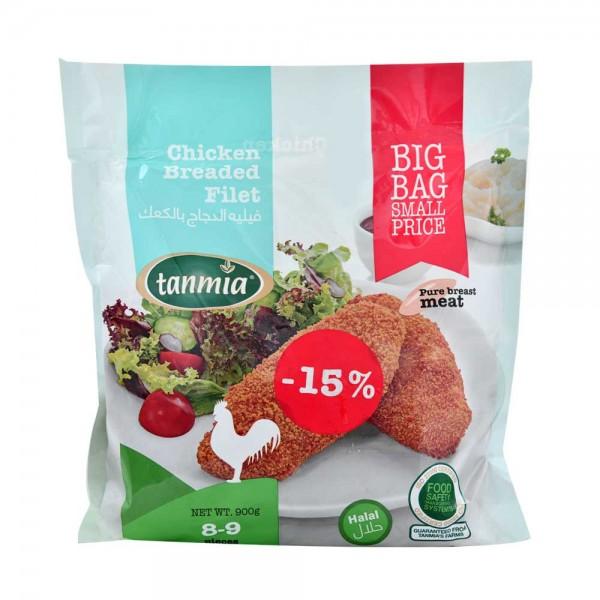 Tanmia Breaded Filet - 900G 405100-V001 by Tanmia
