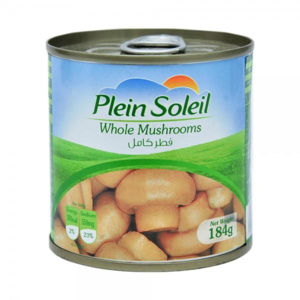 Plein Soleil Whole Mushrooms Jar 184G 409145-V001 by Plein Soleil