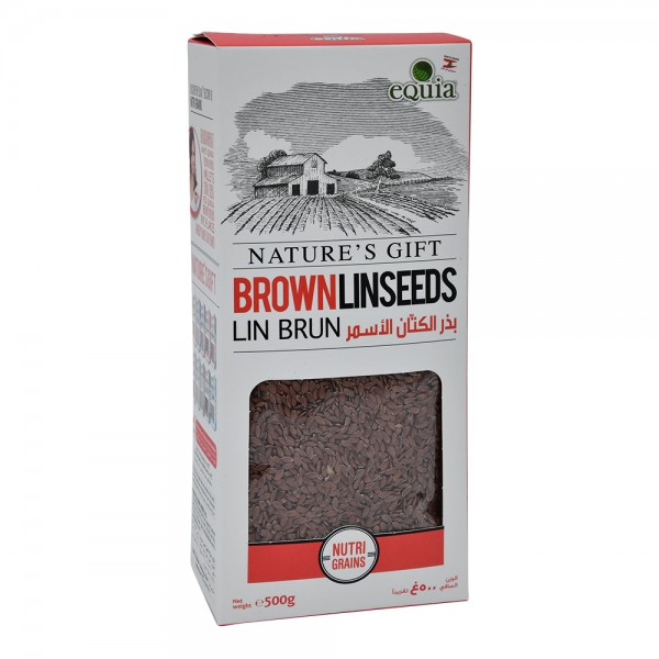 eQuia Brown Linseed 500G 411071-V001 by Equia