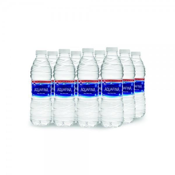 Aquafina Mineral Water Bottle 10x600ml + 2 FREE 412005-V002 by Aquafina