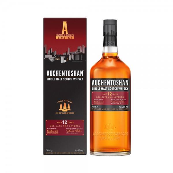 SINGLE MALT 12Y 412117-V001 by Auchentoshan Single Malt Whisky