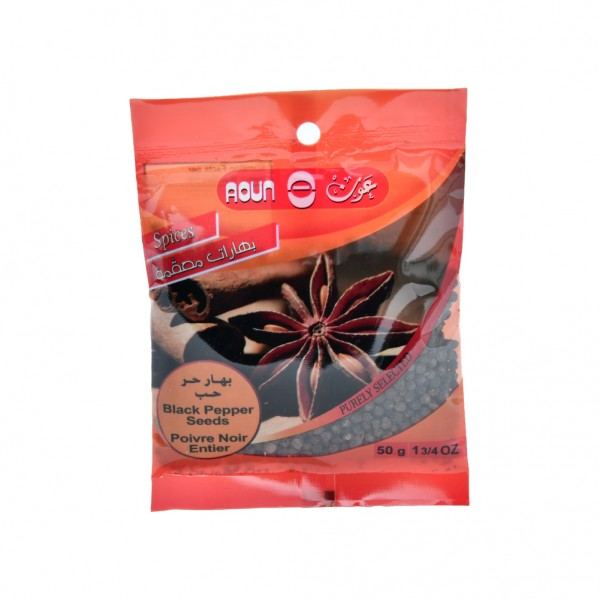 Aoun Black Peper Seeds  - 50G 412269-V001 by Aoun