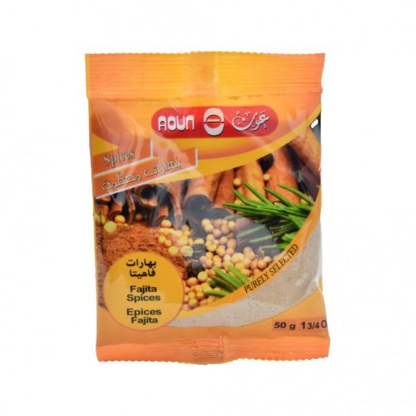 Aoun Fajita Spices  - 50G 412272-V001 by Aoun