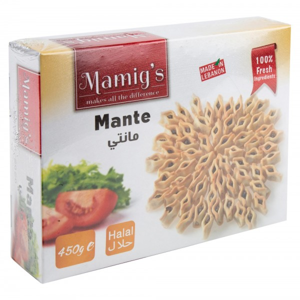 Mamig's Mante Frozen 450G 412642-V001 by Mamig's