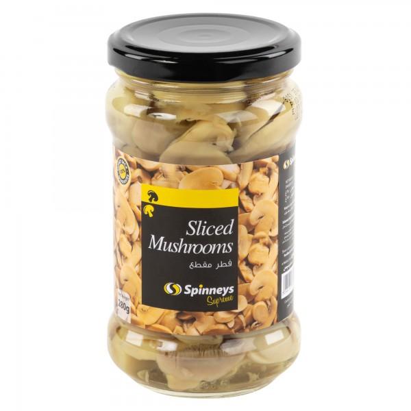 SLICED MUSHROOM IN JARS 413177-V001 by Spinneys Food