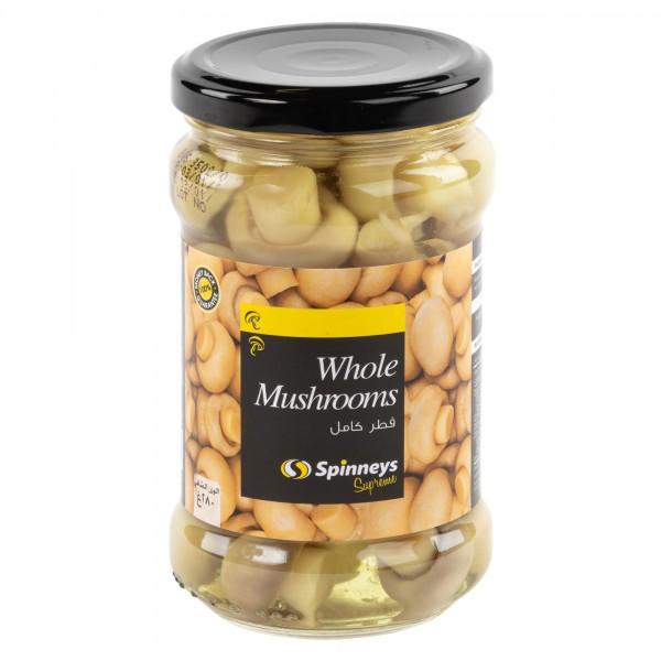WHOLE MUSHROOM IN JAR 413178-V001 by Spinneys Food