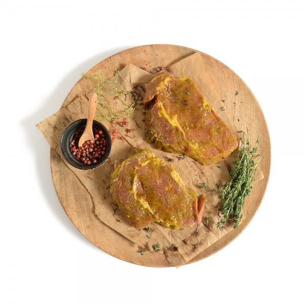 Primeat Curry Lemon Steak Per Kg 413488-V001 by Primeat