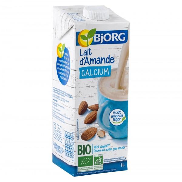 Bjorg Organic Almond Drink With Calcium 1L 413750-V001 by Bjorg