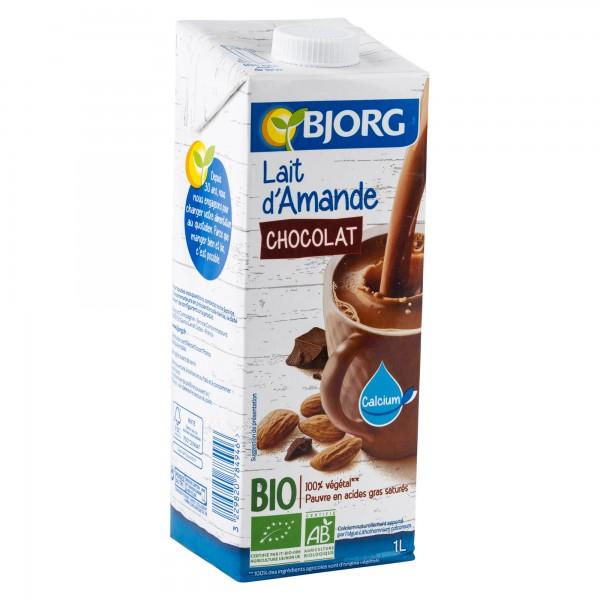 Bjorg Organic Chocolate Almond Milk 1L 413752-V001 by Bjorg