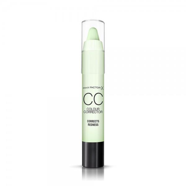 Max Factor Cc Correcter Stick Green-Redne - 1Pc 414658-V001 by Max Factor