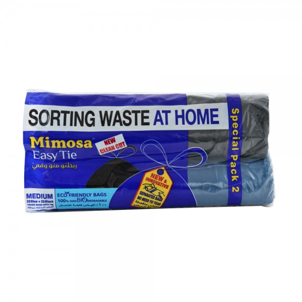 Mimosa Easy Tie Bag Medium 20 Count 419855-V001 by Mimosa