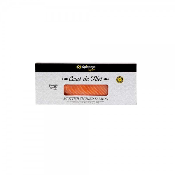 Spinneys Coeur De Fillet Smoked Salmon 180G 421462-V001 by Spinneys Supreme