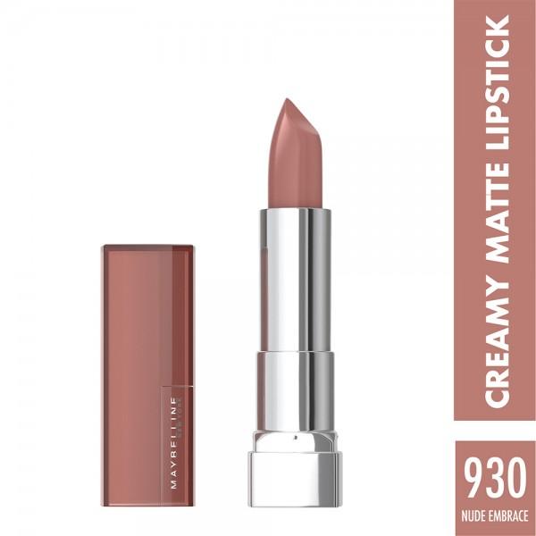 Maybelline Lipstick Creamy Mat 930 - 1Pc 423530-V001 by Maybelline