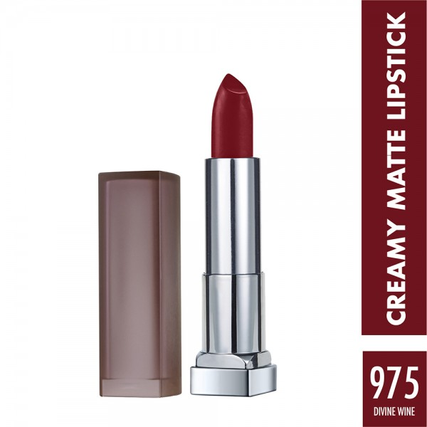 Maybelline Lipstick Mat 975 Divine - 1Pc 423538-V001 by Maybelline