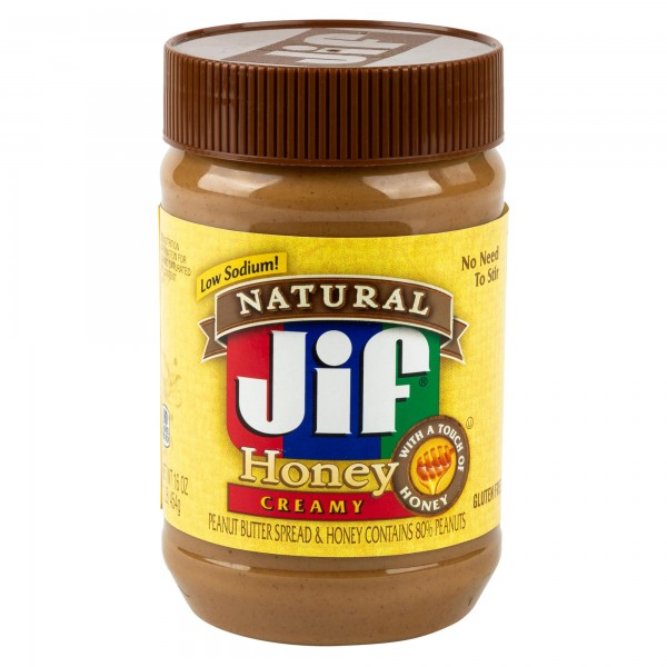 Jif Peanut Butter Spread And Honey 16Oz 424032-V001 by Jif Peanut Butter