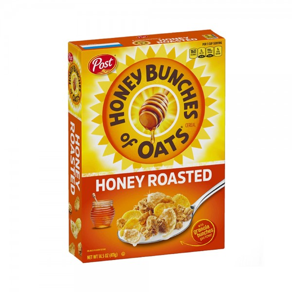 CEREAL HNY BNCHS OF OATS HR 424042-V001 by Post