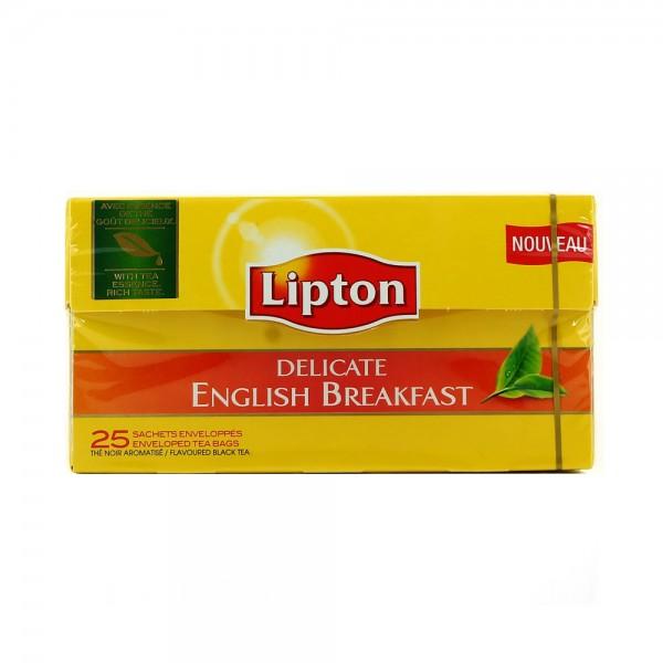 DEL.ENGLISH BREAKFAST 25'S 424517-V001 by Lipton