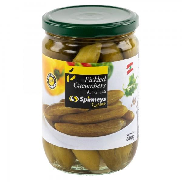 Spinneys Cucumber Pickles 600G 426330-V001 by Spinneys Food