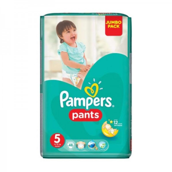 Pampers Pants Value Pack Size 5 48pc 428206-V001 by Pampers