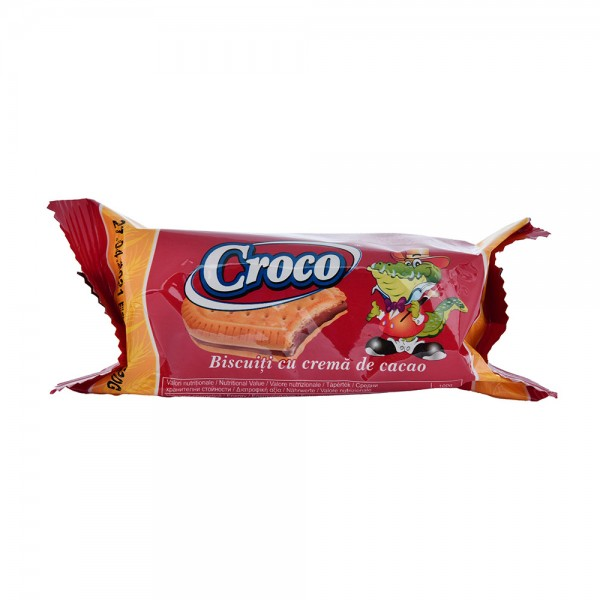 Croco Biscuit Crema Cacao 40Pcent - 32G 428318-V001 by Croco