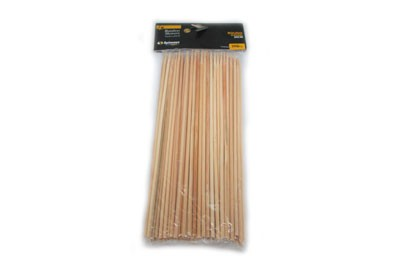 Spinneys Round Bamboo Skeweres 20Cm - 100Pc 431255-V001 by Spinneys Supreme