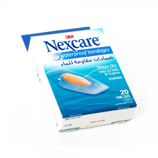 Nexcare Plasters 588 30D Waterproof - 30Pc 431320-V001 by Nexcare