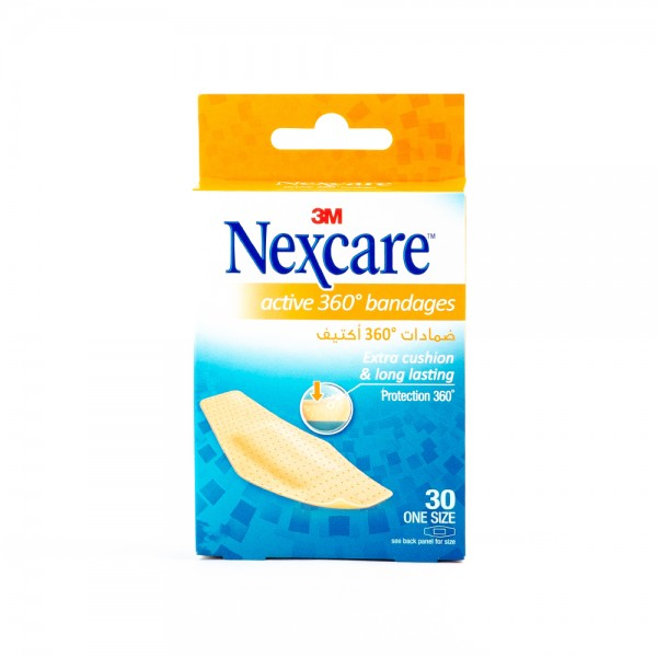 Nexcare Plasters Active 512 30D - 30Pc 431324-V001 by Nexcare
