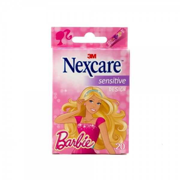 Nexcare Plasters Barbie - 20Pc 431347-V001 by Nexcare