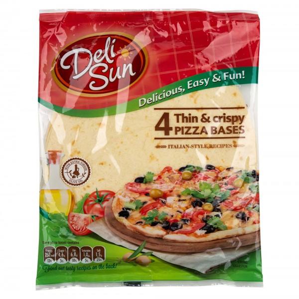 Deli Sun Pizza Bases Thin & Crispy 320G 432534-V001 by Deli Sun