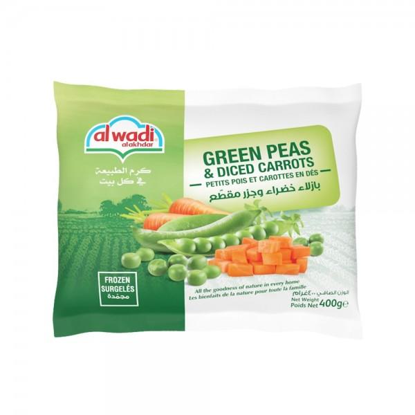 Al Wadi Al Akhdar Green Peas & Diced Carrots 432869-V001 by Al Wadi Al Akhdar