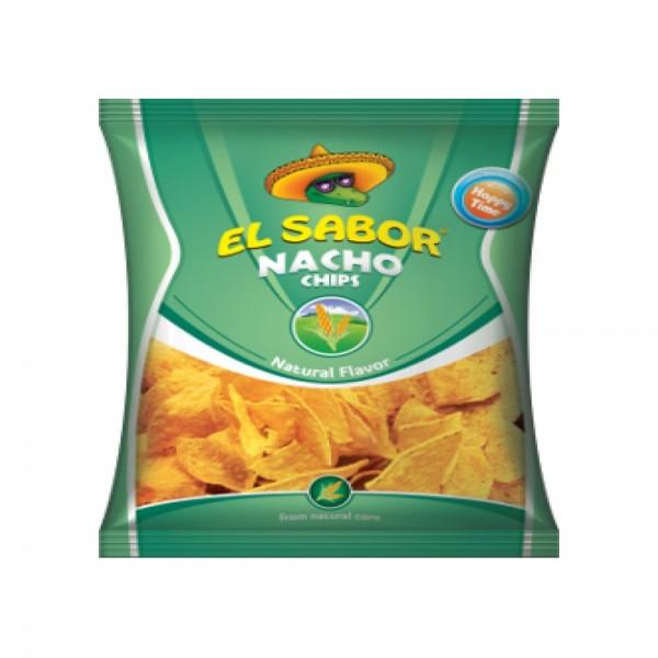 El Sabor Nacho Chips Natural 433406-V001 by El Sabor
