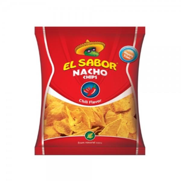 El Sabor Nacho Chips Chili 433409-V001 by El Sabor