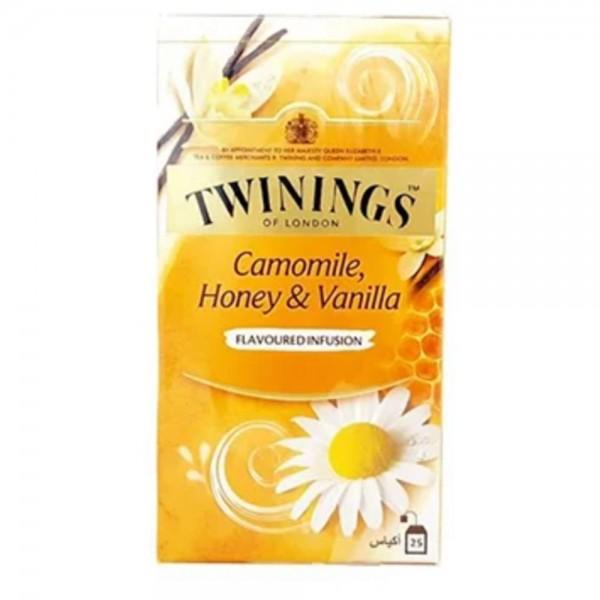 Twinings Camomile, Honey & Vanilla Herbal Tea 25 Sachets 434194-V001 by Twinings