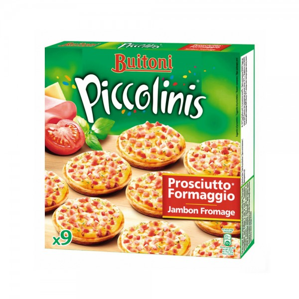 PICCOLINIS JAMBON FROMAGE X9 436520-V001 by Buitoni